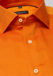 ETERNA CHEMISE À MANCHES LONGUES MODERN FIT OXFORD ORANGE UNI